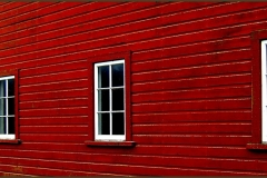 Red Barn Windows